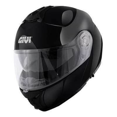 Casque modulable X.20 Givi Expedition noir brillant