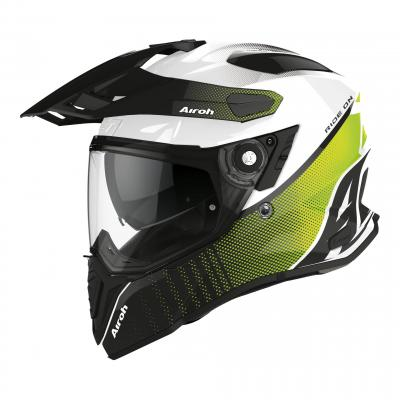 Casque trail Airoh Commander Progress lime brillant