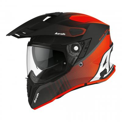 Casque trail Airoh Commander Progress orange mat