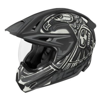Casque trail Icon Variant Pro Totem™ noir/gris
