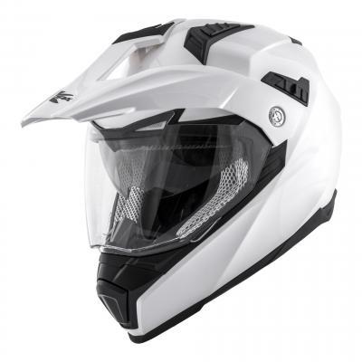 Casque trail Kappa KV30 Enduro Basic blanc vernis