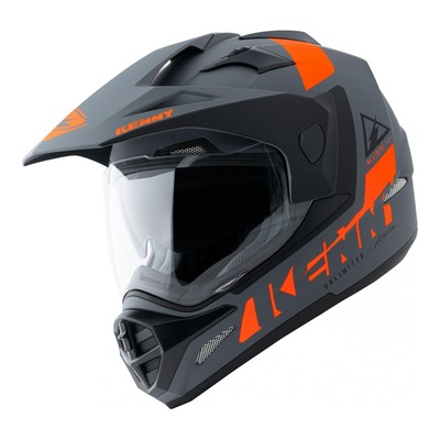 Casque trail Kenny Extreme Graphic Mat gris/orange
