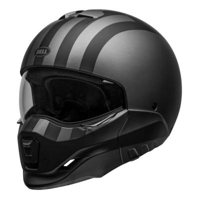Casque transformable Bell Broozer Free Ride Mat gris/noir