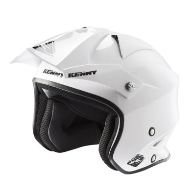 Casque trial Kenny Trial Air Solid blanc