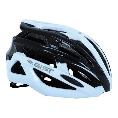 Casque vélo adulte Gist E-bike Planet blanc et noir