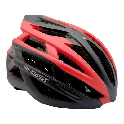 Casque vélo adulte Gist E-bike Planet noir et rouge