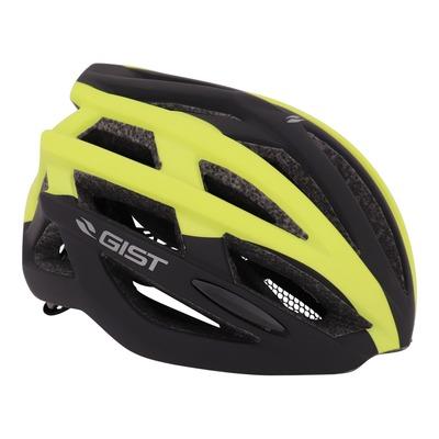 Casque vélo adulte Gist E-bike Planet noir et vert citron