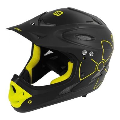 Casque vélo BMX Gist Intégral Fall noir/jaune