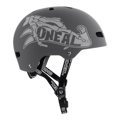 Casque vélo bol O'Neal Dirt Lid ZF Bones gris