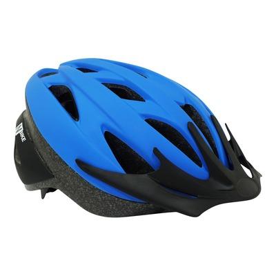 Casque vélo city bleu (taille 54-58)