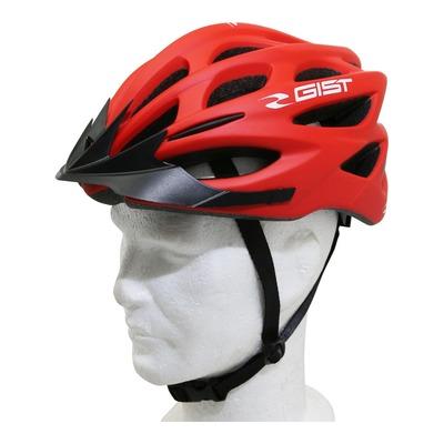 Casque vélo city/E-Bike Gist Faster urban rouge mat