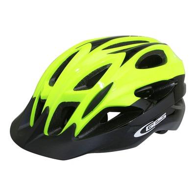 Casque vélo city Ges Revo jaune fluo/noir