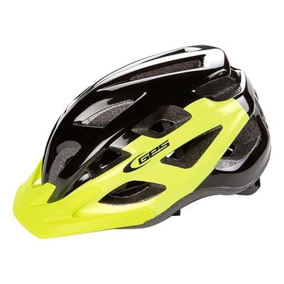 Casque vélo city Ges Varik jaune/noir