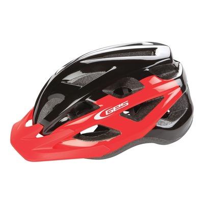Casque vélo city Ges Varik rouge/noir