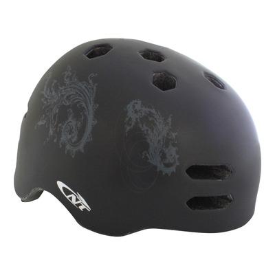 Casque vélo city Newton Urbain noir mat