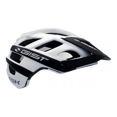 Casque vélo enduro Gist Enduro ESK blanc/noir