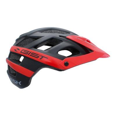Casque vélo enduro Gist Enduro ESK noir/rouge