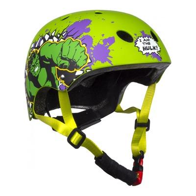 Casque vélo enfant Disney Hulk vert (54-58cm)