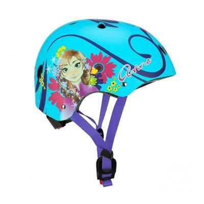 Casque vélo enfant Disney V3 Frozen avec molette de réglage bleu (taille 54-58)
