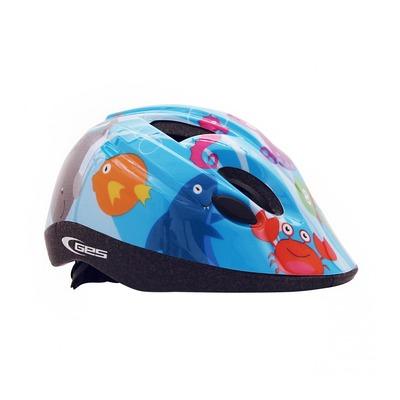 Casque vélo enfant GES Cheeky bleu (taille 46-53)