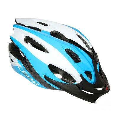 Casque vélo enfant Junior GES Apache bleu/noir/vert (taille 47-53)