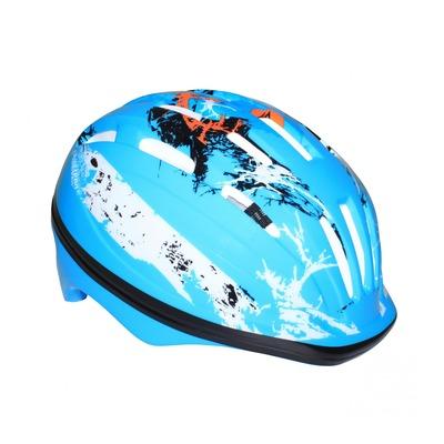 Casque vélo enfant Newton Graff bleu (taille 48-52)