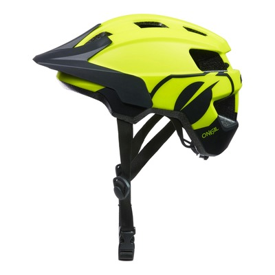 Casque vélo enfant O'Neal Flare Icon V.22 jaune fluo/noir mat