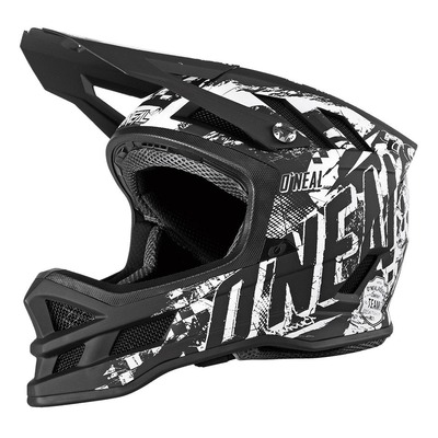 Casque vélo intégral O'Neal Blade Hyperlite Rider noir/blanc