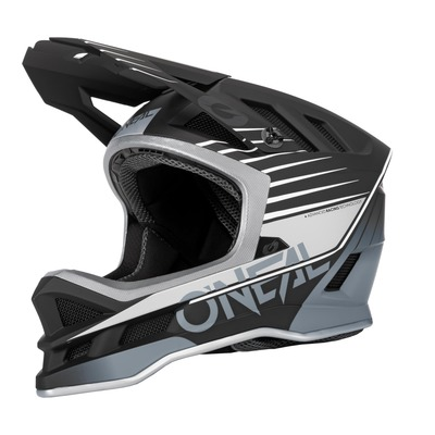 Casque vélo intégral O'Neal Blade polyacrylite Delta V.22 noir/gris mat