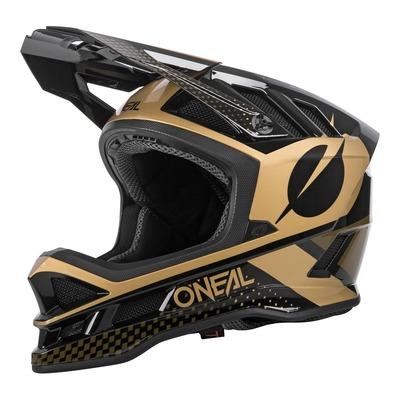 Casque vélo intégral O'Neal Blade polyacrylite ACE V.22 noir/or brillant