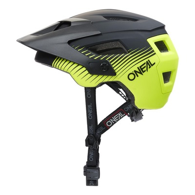 Casque vélo O'Neal Defender Grill V.22 noir/jaune fluo mat