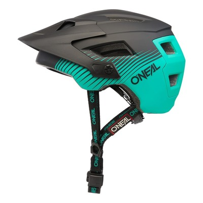 Casque vélo O'Neal Defender Grill V.22 noir/vert mat