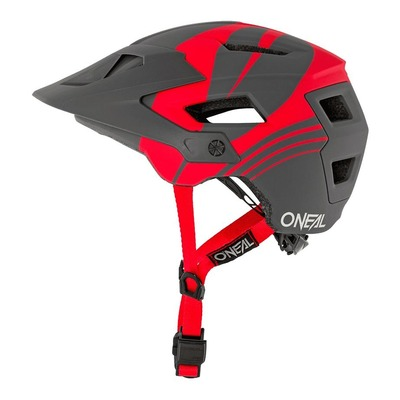 Casque vélo O'Neal Defender Nova gris/rouge