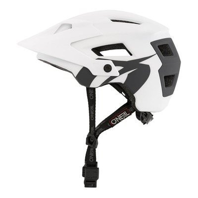 Casque vélo O'Neal Defender Solid blanc/gris