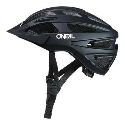 Casque vélo O'Neal Outcast Plain V.22 noir mat