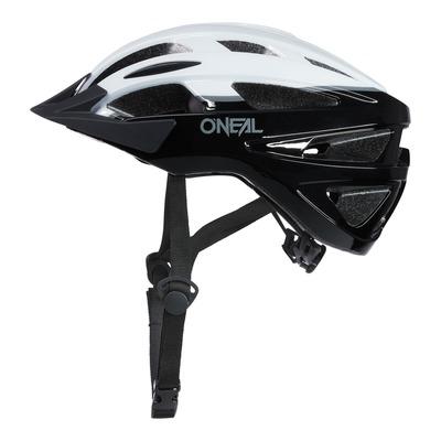 Casque vélo O'Neal Outcast Split V.22 noir/blanc brillant