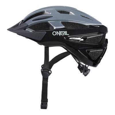 Casque vélo O'Neal Outcast Split V.22 noir/gris brillant
