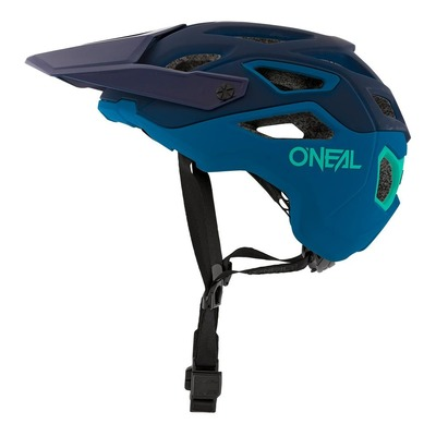Casque vélo O'Neal Pike Solid bleu/Teal