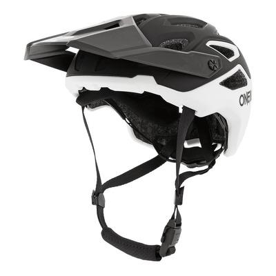 Casque vélo O'Neal Pike Solid noir/blanc