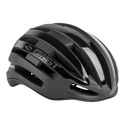Casque vélo route adulte Gist Bravo noir mat et noir brillant