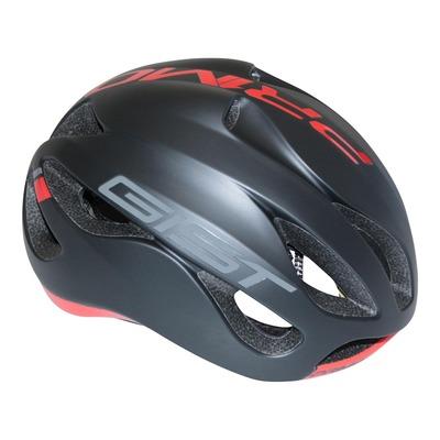 Casque vélo route adulte Gist Primo noir et rouge (52-57cm)