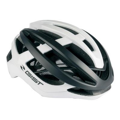 Casque vélo route adulte Gist Sonar blanc et noir