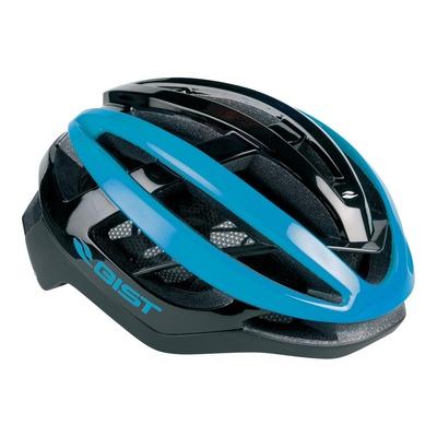 Casque vélo route adulte Gist Sonar noir et bleu