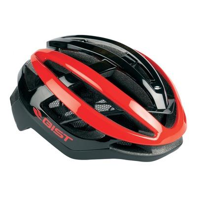 Casque vélo route adulte Gist Sonar noir et rouge (54-59cm)