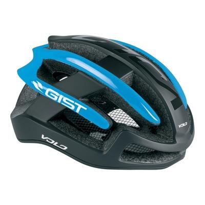 Casque vélo route adulte Gist Volo noir et bleu