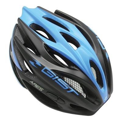 Casque vélo route Gist Ares noir/bleu
