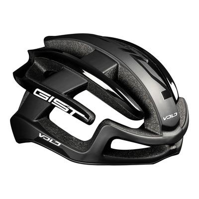 Casque vélo route Gist Volo noir mat/noir brillant