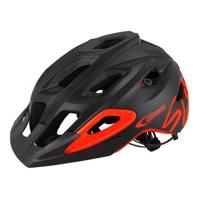 Casque vélo VTT/Enduro Ges Summit noir/orange (taille 55-61)