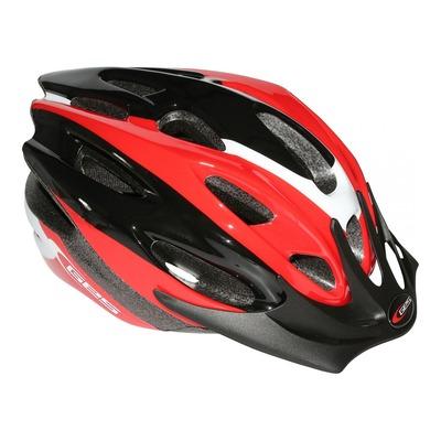 Casque vélo VTT Ges Rocket rouge/noir/blanc