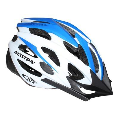 Casque vélo VTT Newton Victory bleu/blanc